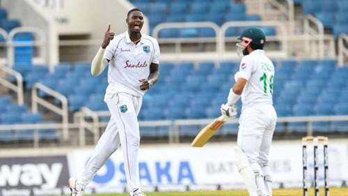 Cricket-Pakistan bowled out for 217 as Windies bowlers dominate