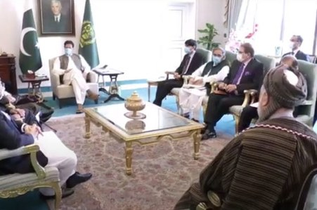 PM Imran reaffirms Pakistan's commitment to a peaceful, stable Afghanistan