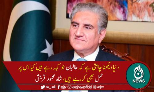 ہم افغانستان سے پر امن انخلاءکے حامی ہیں، وزیرخارجہ