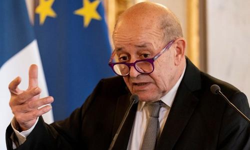فرانسیسی وزیرِ خارجہ کی امریکا سے افغانستان کے معاملے میں ذمہ داریاں نبھانے کی اپیل