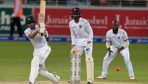 دوسرا ٹیسٹ: پاکستان نے ویسٹ انڈیز کو جیت کیلئے 329رنز کا ہدف دے دیا