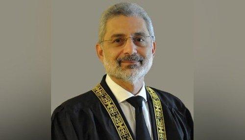 جسٹس قاضی فائز عیسٰی کا ازخودنوٹس کے دائرہ اختیار کیلئے قائم بینچ پر اعتراض