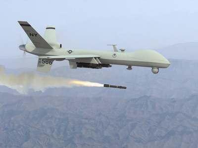کابل دھماکوں پر امریکا کا پلٹ وار: داعش جنگجوؤں پر ڈرون حملہ