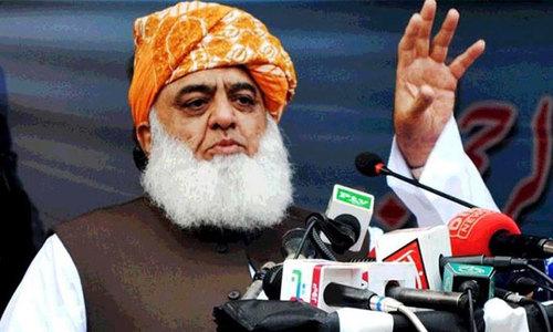 مولانا فضل الرحمان کا اسلام آباد کی طرف مارچ کا اعلان