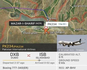 First PIA cargo flight carrying WHO medical essentials lands in Mazar-e-Sharif