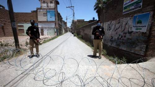 پشاور کے 5 علاقوں میں اسمارٹ لاک ڈاؤن نافذ، نوٹیفکیشن جاری