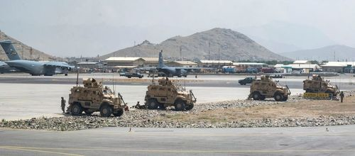 What happens now that U.S. troops have left Afghanistan?