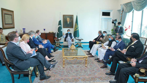 وزیراعظم کا افغانستان میں استحکام یقینی بنانے کےلئے فوری اقدامات پر زور