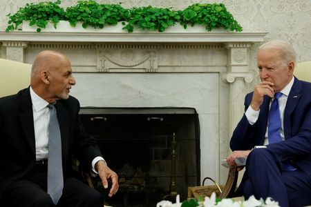 In call before Afghan collapse, Biden pressed Ghani to 'change perception'