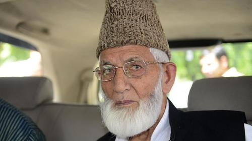 Indian forces register case against Gilani's family under anti-terror law