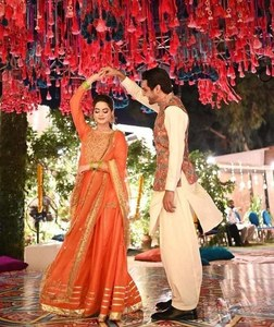 Minal and Ahsan's wedding festivities begin with dholki
