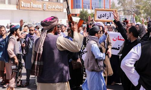 کابل: بغیر اجازت کیے جانے والے مظاہروں پر پابندی عائد