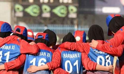 طالبان کاافغان خواتین کرکٹ ٹیم پر پابندی کا فیصلہ