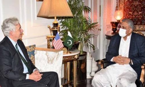 آرمی چیف سے سی آئی  اے چیف کی ملاقات، افغانستان کی صورتحال پر تبادلہ خیال