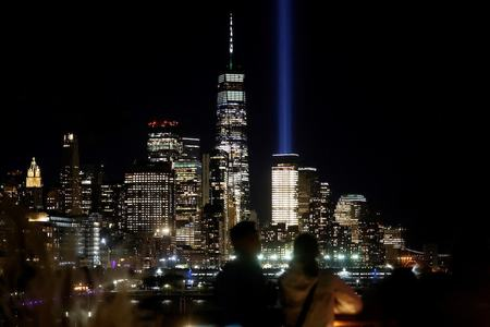 'A message of resilience': Americans reflect on 20th anniversary of Sept. 11