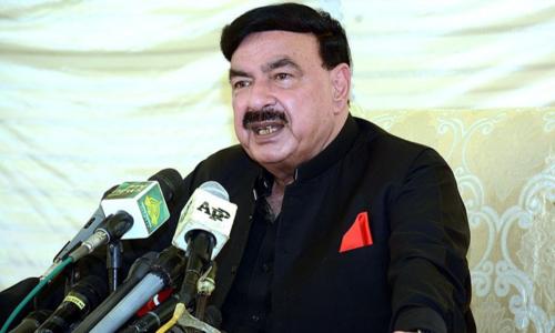 پاکستان میں فرقہ وارانہ فضا بنائی جارہی ہے جس میں بیرونی ہاتھ ملوث ہے،شیخ رشید