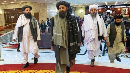 Major row reported between Taliban leaders at presidential palace