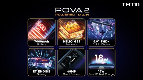 POVA 2 available in markets nationwide
