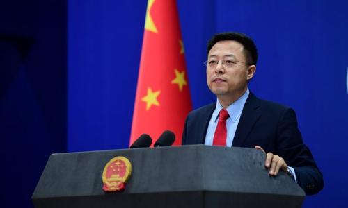 چین کی پاکستانی حکومت کی چین کیساتھ عملی تعاون اورموثر کوششوں کی تعریف