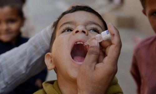 سندھ: 9.4 ملین بچوں کو پولیو کے قطرے پلانے کا ہدف