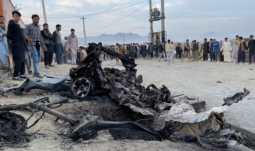 Three blasts kill at least two in Afghanistan
