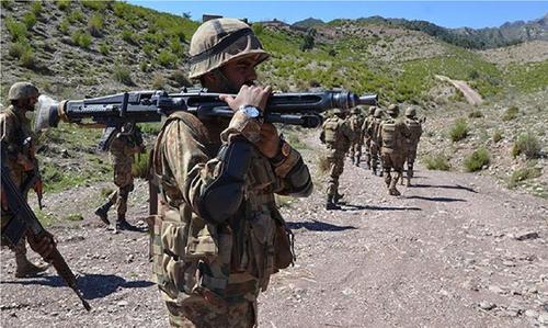 مستونگ میں سیکیورٹی فورسز کا آپریشن، کالعدم تنظیم داعش کا امیر ہلاک