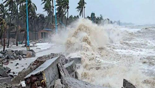 """سمندری طوفان""""گلاب"""" خلیج بنگال سے مغرب کی جانب بڑھنے لگا، تیسرا الرٹ جاری"""