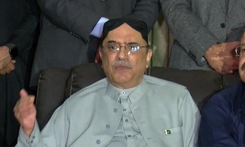 Zardari's indictment in suspicious transactions case deferred
