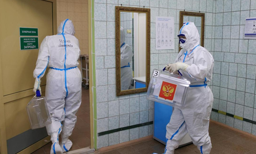 روس میں کورونا وائرس کی وجہ سے ریکارڈ یومیہ اموات