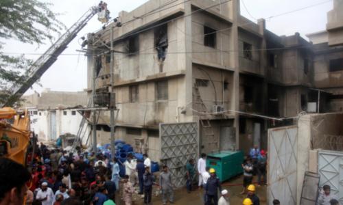 سانحہ مہران ٹاؤن کیس:سرکاری ادارے مجرمانہ غفلت کے مرتکب قرار