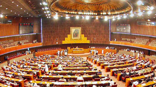 Opposition stages protest in National Assembly against hike in petrol prices