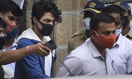 منشیات برآمدگی کیس، کنگ خان کے بیٹے آریان کی ضمانت مسترد
