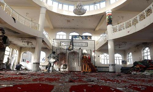 افغانستان: شیعہ مسجد میں دھماکہ، 100 سے زائد ہلاکتیں سیکڑوں زخمی
