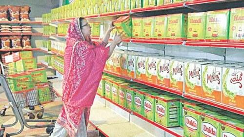 حکومت نے گھی کی قیمتوں میں 109روپے فی کلو تک کا اضافہ کردیا