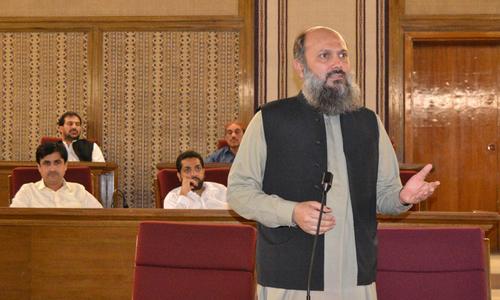 بلوچستان اسمبلی : جام کمال کیخلاف تحریک عدم اعتماد پیش
