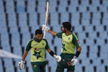 Babar, Rizwan star as Pakistan break India jinx with 10-wicket rout