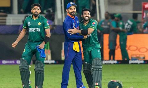 پاکستان کی جیت، کوہلی نے رضوان کو گلے لگا لیا
