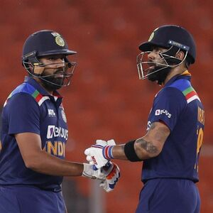 Will you drop Rohit Sharma?', bemused Kohli asks in reply to question