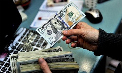 انٹربینک میں امریکی ڈالر کی قیمت میں 42پیسے اضافہ