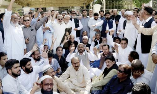 تاجر برادری بھی فیض آباد میں دھرنے کیلئے تیار