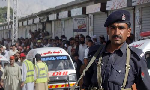 کوئٹہ: دو گروپوں میں تصادم، 4 افراد جاں بحق، طاہر کھیتران زخمی