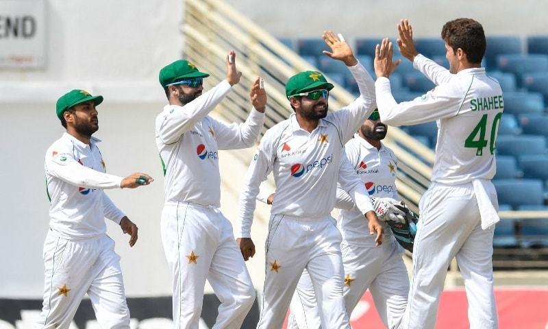 دوسرے ٹیسٹ میں پاکستان کے ہاتھوں ویسٹ انڈیز کو 109رنز سے شکست