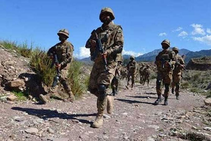 The operation was conducted after reported presence of terrorists in the area, according to the ISPR. File photo