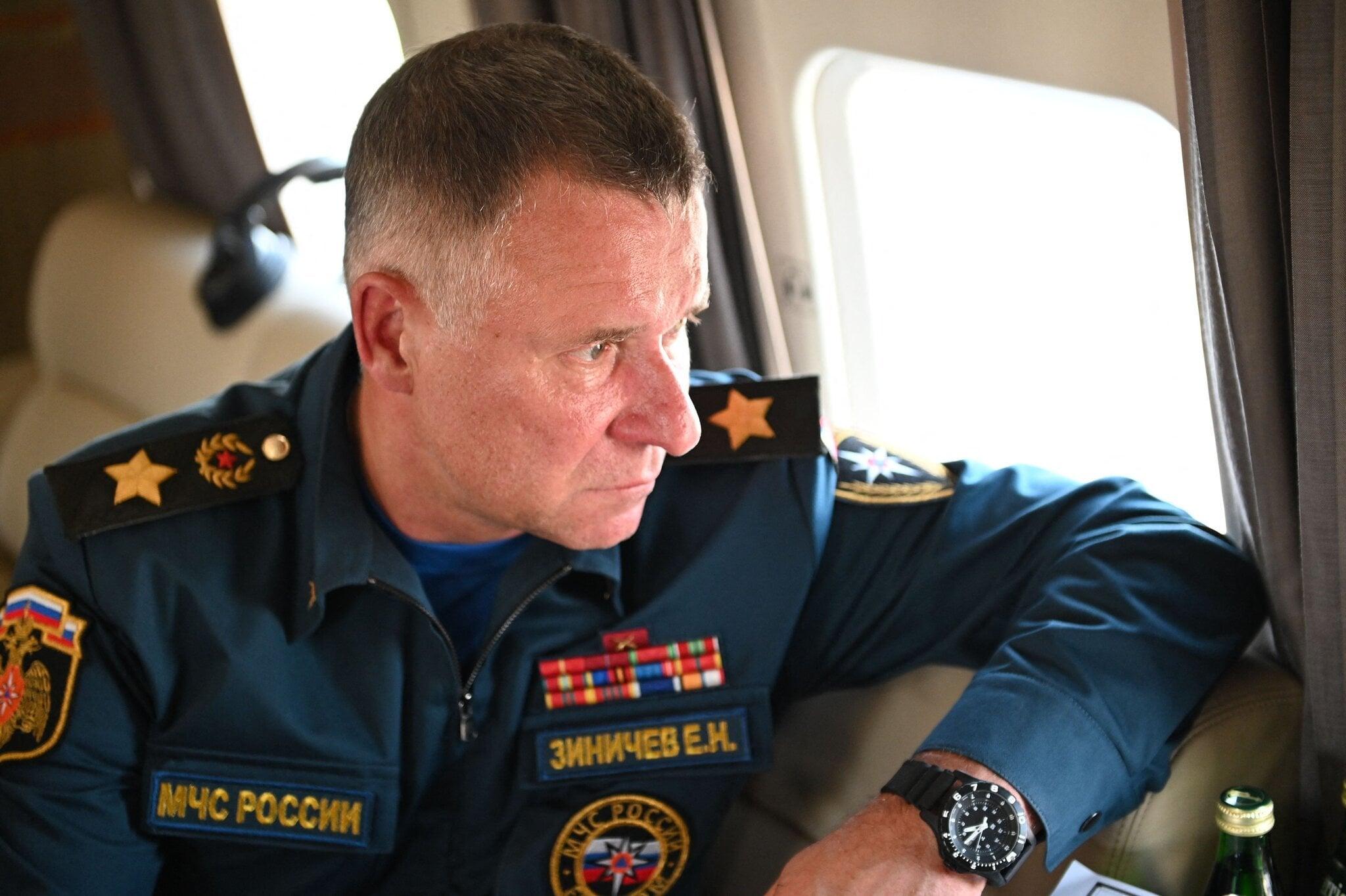 روسی وزیر برائے ہنگامی حالات ییوگینی زینی شیف