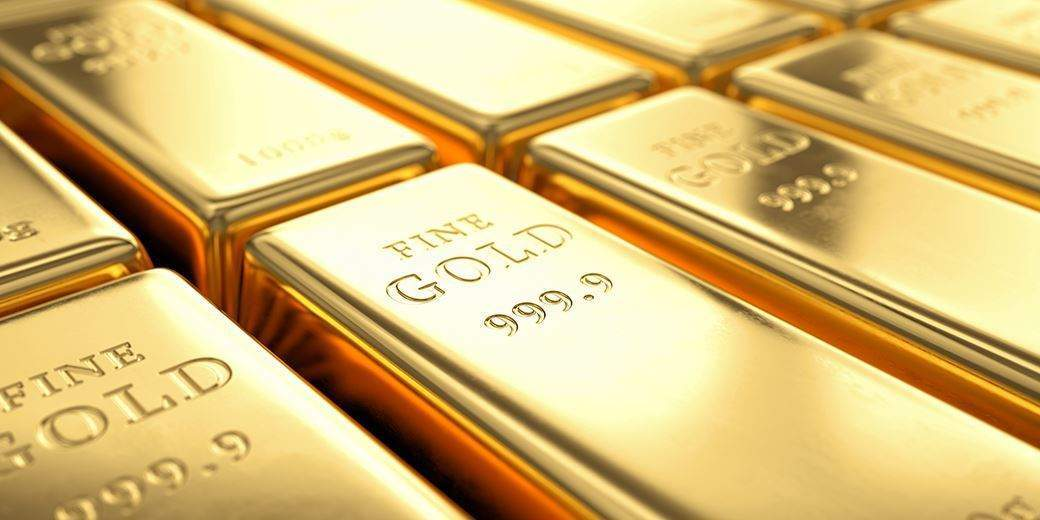 The price of gold in international market increased by US$ 3 and was traded at US$1758. File Photo