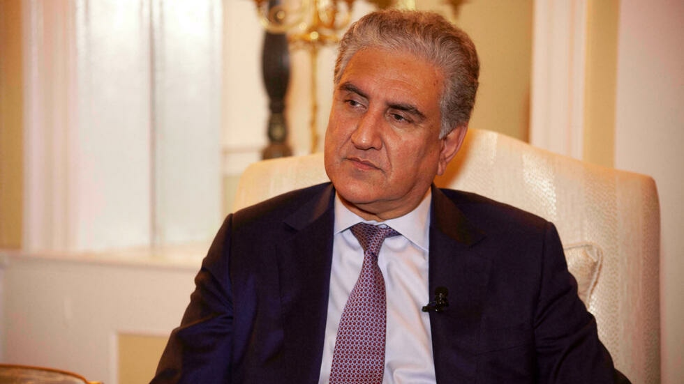 I think freezing the assets is not helping the situation, said FM Qureshi. AFP