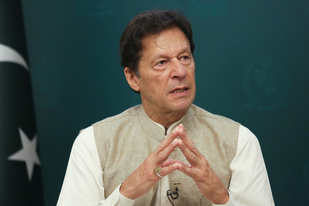 The PTI government claims the disclosure of gifts to Imran Khan is a classified issue. Reuters