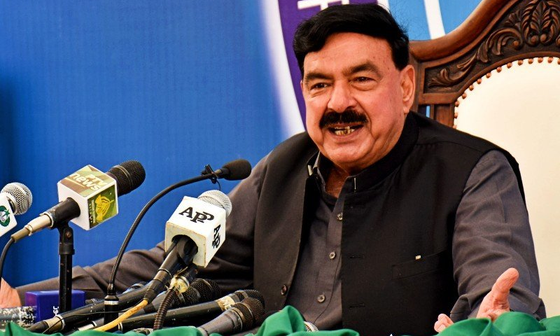 Sheikh Rasheed  expressed the hope that the international community will ensure the provision of resources for the Afghan government. File Photo