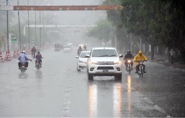 کراچی میں آج سے 2اکتوبر تک مون سون بارشوں کا سلسلہ جاری رہنے کا امکان