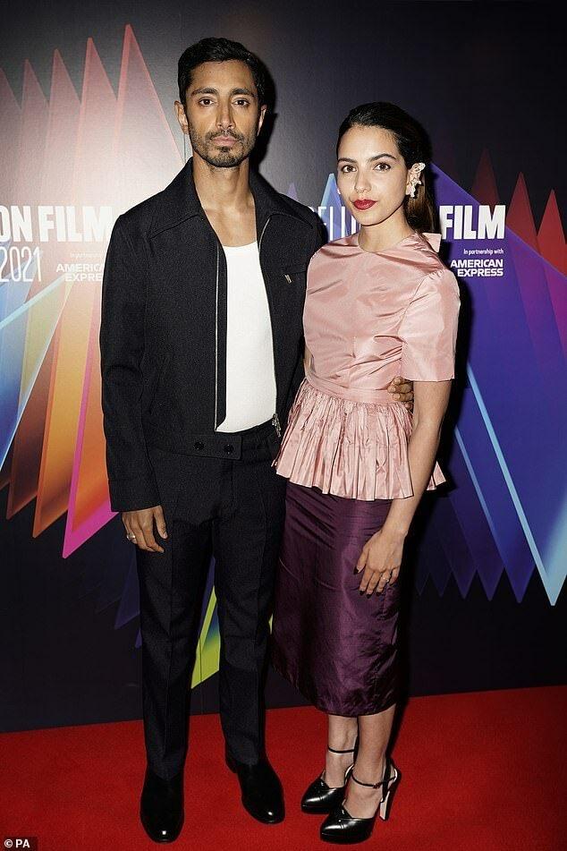 Riz Ahmed, wife Fatima dazzle crowds at British Film Fest
